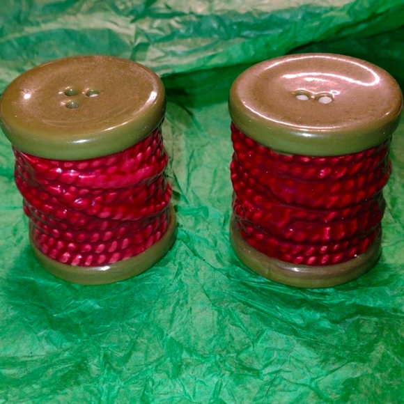 Very old vintage salt and pepper shakers